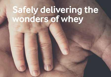 Safely delivering the wonders of whey