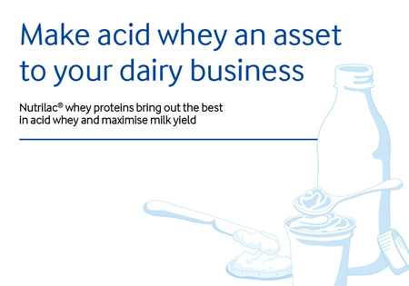 Make acid whey an asset to your dairy business