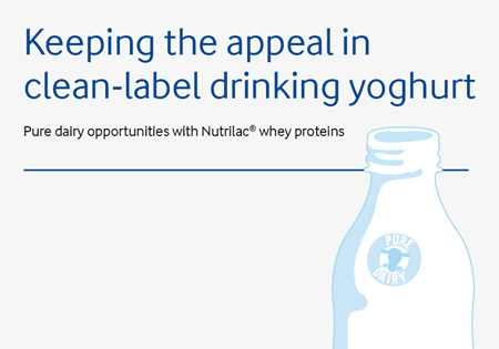 Keeping the appeal in clean-label drinking yoghurt