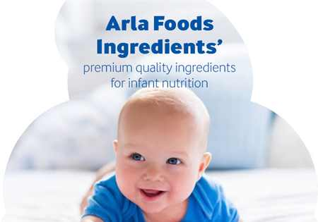 Arla Foods Ingredients' premium quality ingredients for infant nutrition brochure